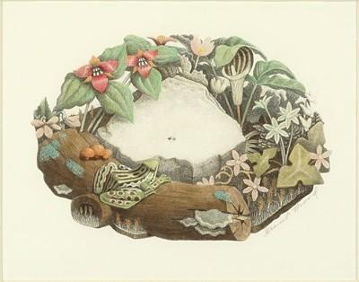 Grant Wood-Wild Flowers-1938
