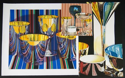 Jeanette Pasin Sloan-Mercato Stripes; La Terrazza-1993