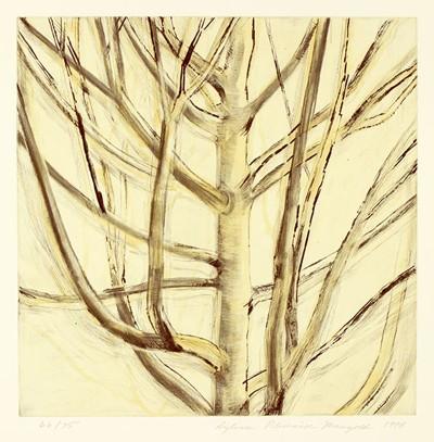 Sylvia Plimack Mangold-Tree-1994