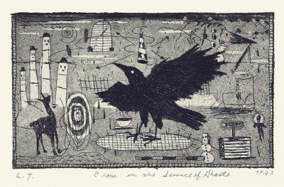 Tony Fitzpatrick-Crow in the Service of Ghosts-1993