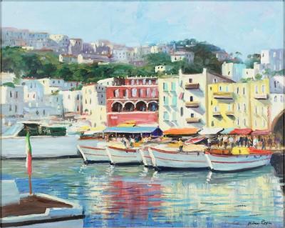 Nino Pippa-Saint Tropez Harbor-