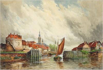Louis Van Staaten-Volendam Near Rotterdam-