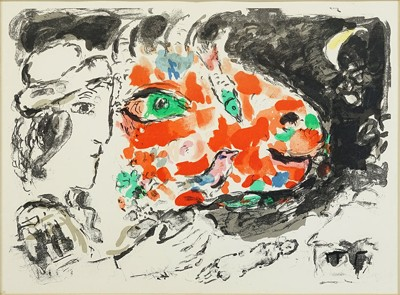 After Marc Chagall - Winter-