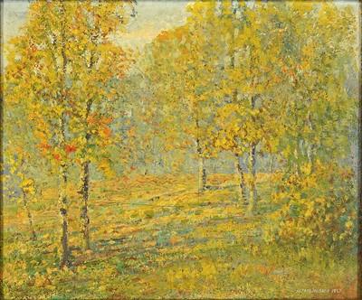 Alfred Jansson-Autumn Landscape-1927