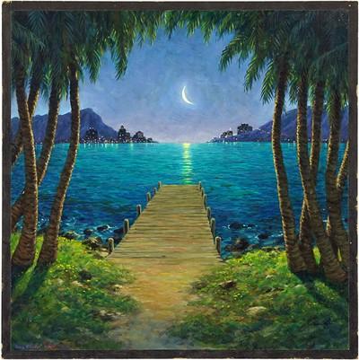Doug Shelton-Moonlit Bay-1995