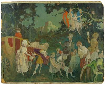 Lee Woodward Zeigler-Fairy Tale Illustration-