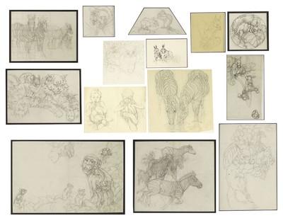 Kathleen Irene Nixon-Children's Book Illustrations: Animals-
