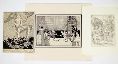 C. Winston Haberer-Lion's Cage-1916
