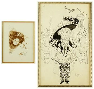 Artist Unknown - Lady in a Plumed Hat-