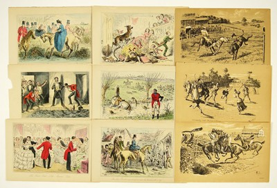 A Collection of British Sporting Prints-