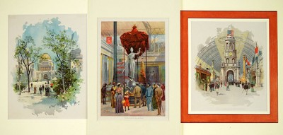 A Collection of Columbian Exposition Prints-