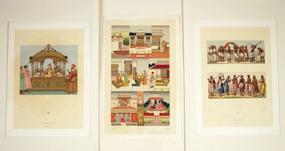 A Collection of Fashion Chromolithographs-