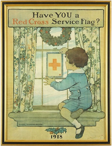Jessie Willcox Smith-After Jessie Willcox Smith - Red Cross Poster-1918