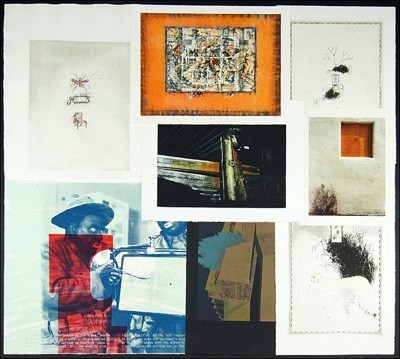 A Collection of Contemporary Prints-