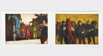 Dean Meeker-Two Color Intaglio Prints-