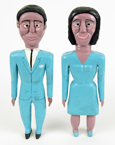 George Williams-Man and Woman in Blue-