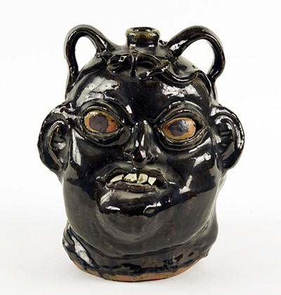 Chester Hewell-A Double Face Jug-