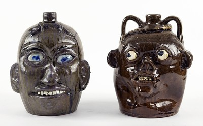 Chester Hewell-Two Face Jugs-1998