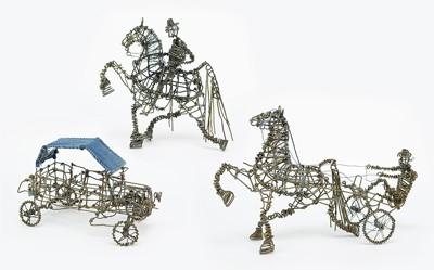 Vannoy Streeter-Three Wire Sculptures-