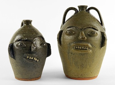 Charles Lisk-Two Face Jugs-