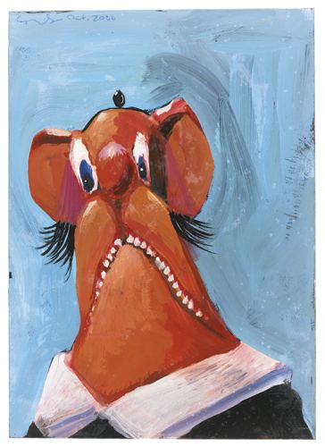 George Condo-Untitled-2000