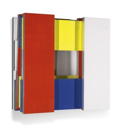 Imi Knoebel-Hommage To Mondrian-1995