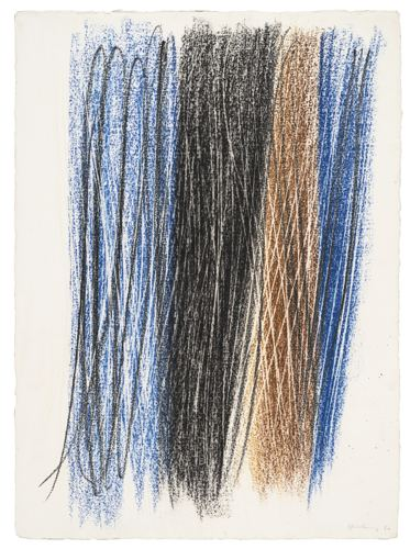 Hans Hartung-Untitled (G-5)-1960
