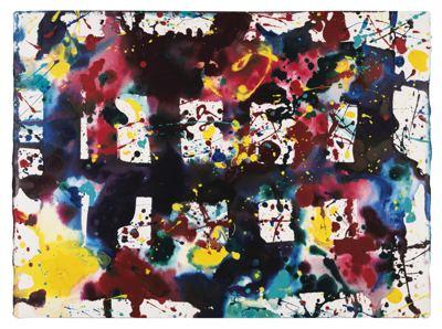 Sam Francis-Untitled (Matrix Six)-1977