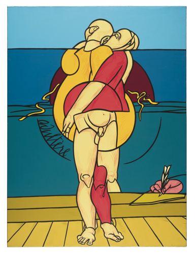 Valerio Adami-Adultere-1985
