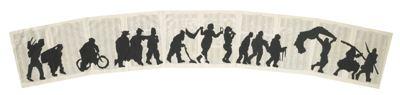 William Kentridge-Collage On Atlas Index-2000