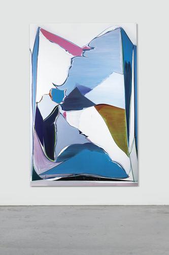 Thomas Scheibitz-Untitled No. 337-2004