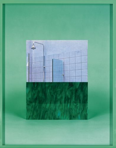 Elad Lassry-Green Twirl (Shower)-2010