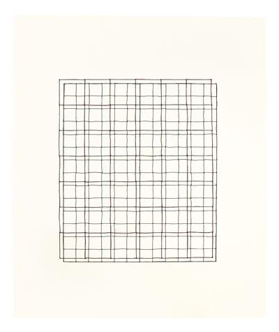 Cornelia Parker-Bullet Drawing (Crosshairs)-2013