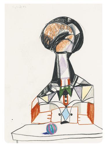 George Condo-Untitled-1992