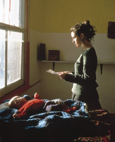 Tom Hunter-Woman Reading a Possession Order-1997