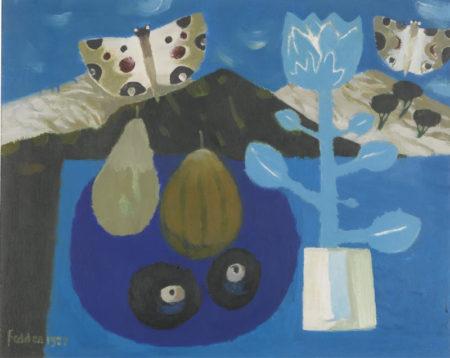 Mary Fedden-Butterflies-1987
