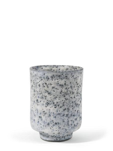 Lucie Rie-Volcanic Glazed Beaker-