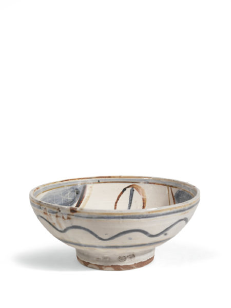 Michael Cardew-Large Bowl With Brushed Decoration-