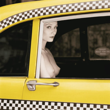 Patrick Lichfield-Checker Cab, New York-1990