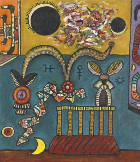 Alan Davie-Double Eclipse-1994