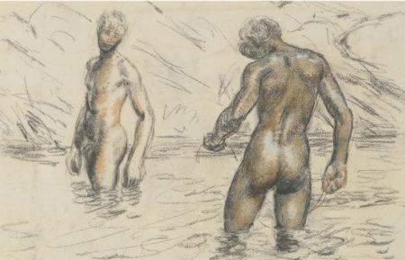 Duncan Grant-Boys Bathing-