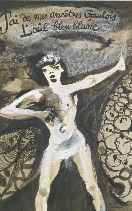 Keith Vaughan-Mauvais Sang: An Illustration To Une Saison En Enfer-1943