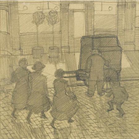 Dora Carrington-Organ Grinder-1914