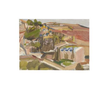 David Bomberg-Garden Of Gethsemane-1926