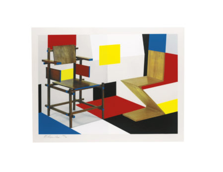 Richard Hamilton-Putting On De Stijl (Lullin 111)-1979