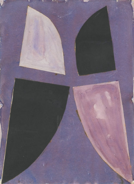 Terry Frost-Purple And Black-1968