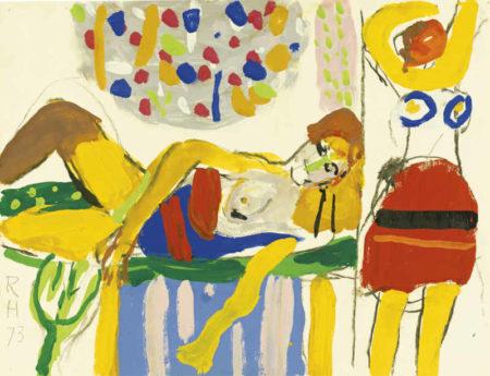 Roger Hilton-Two Women-1973