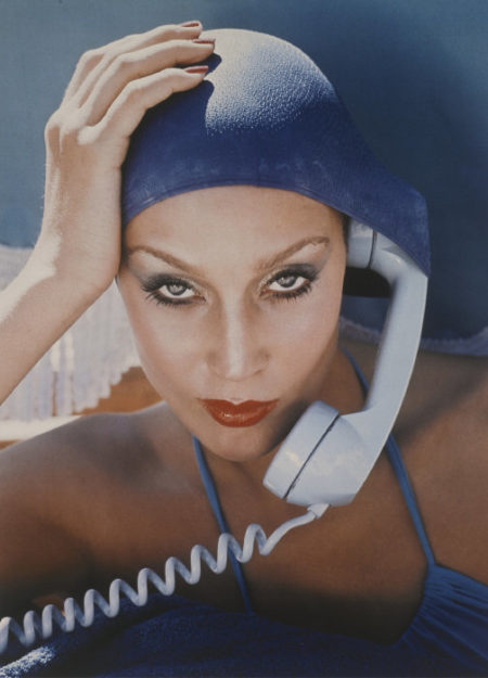 Norman Parkinson-Jerry Hall, Jamaica, British Vogue, 1975-1975
