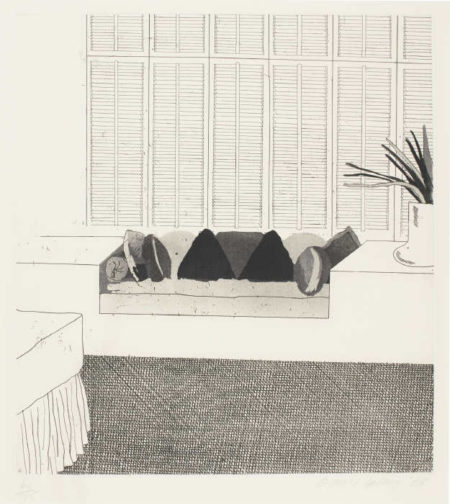 David Hockney-Cushions (Scottish Arts Council 64)-1968