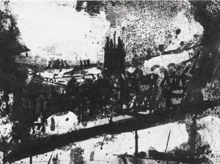 John Virtue-Landscape 207-1993